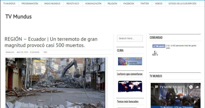 Ecuador_TVMundus